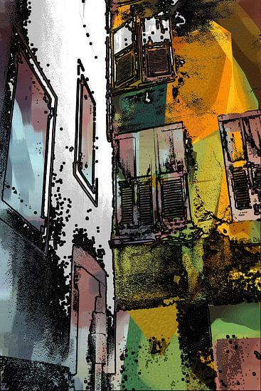 FRANKRIJK spel van zon en schaduw 3 van MY ARTIE WALL