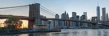 Brooklyn Bridge Panorama sur Borg Enders