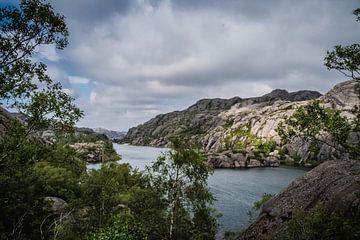 Die schöne Natur in Norwegen von Evy De Wit