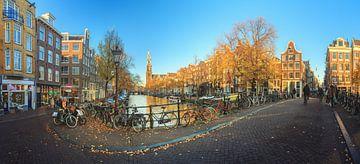 Prinsengracht Westerkerk panorama
