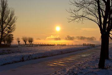 Landschap bij zonsopkomst von Fotografia PB