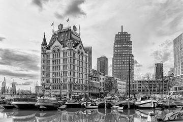 Alter Hafen mit dem Weißen Haus in Rotterdam von Don Fonzarelli