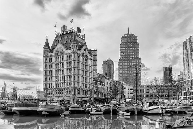 Oude Haven met het Witte Huis in Rotterdam van Don Fonzarelli