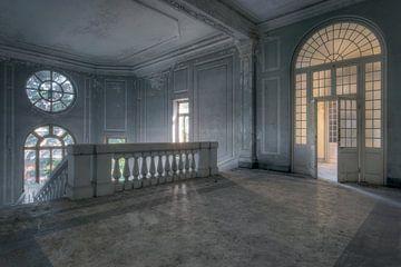 Cage d'escalier abandonnée sur Kristof Ven
