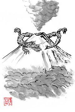 Fuji-Drache von philippe imbert