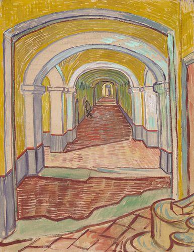 Vincent van Gogh. Gang in de inrichting van