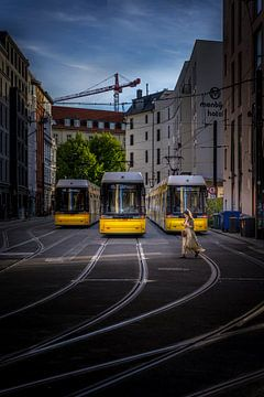 Berlin Bvg  Tram von Iman Azizi