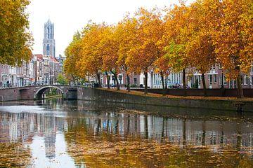 Herbst in Nieuwekade von Ramon Mosterd