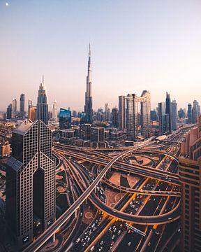 Sonnenuntergang in Dubai von Duane Wemmers