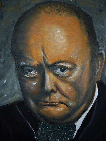 Winston Churchil van Jan Wiersma