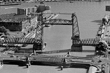 De Hef zwart / wit te Rotterdam van Anton de Zeeuw