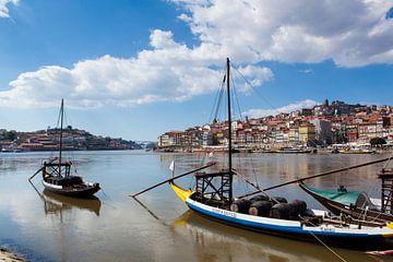De rivier Douro in Porto van Wesley Flaman