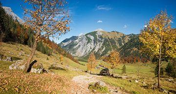 wunderschöner Wanderweg vom Hohljoch zu den Eng-Almen im Karwendelgebirge von Susanne Bauernfeind