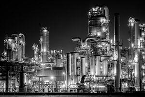 Industrie in Zwart Wit