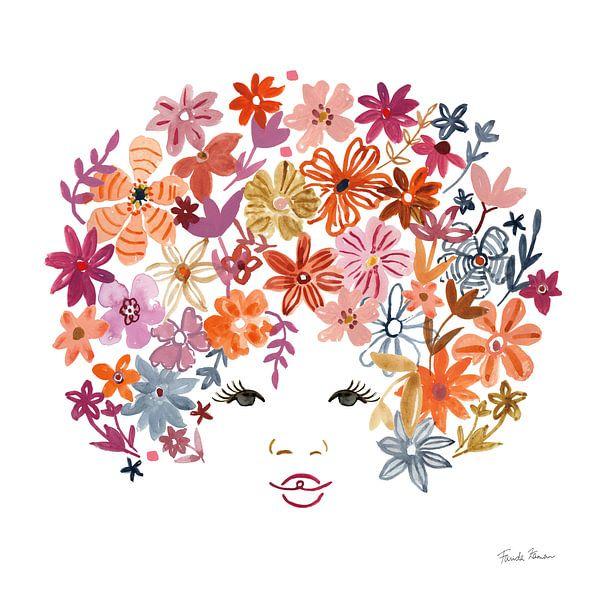 Floral Beauties I, Farida Zaman van Wild Apple