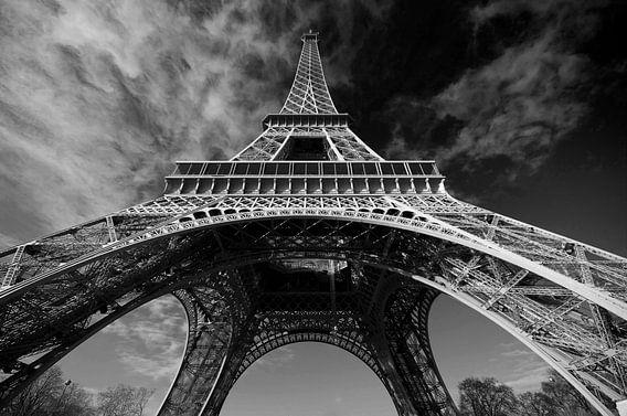 Parijs Eiffeltoren van Wouter Sikkema