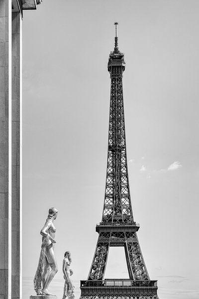 Van Trocadéro tot Eiffeltoren van JPWFoto