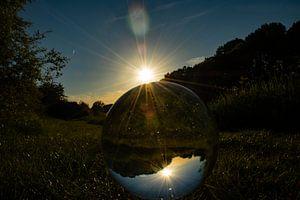 Through a Glass globe
