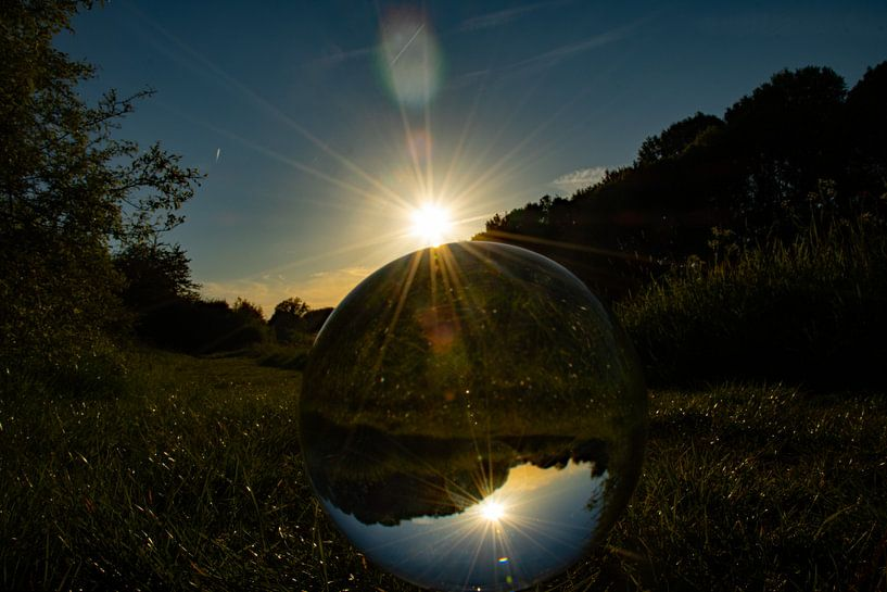 Through a Glass globe van Patrick Boonstra