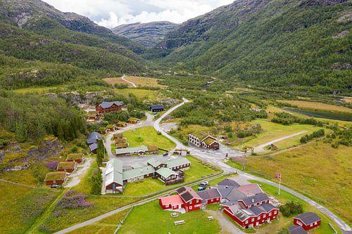 Arial photo Noorwegen