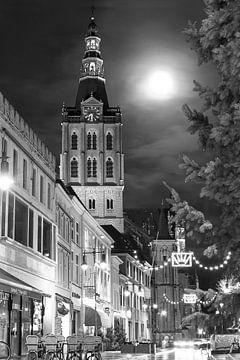 St. Johns bei Vollmond, 's-Hertogenbosch von Christa Thieme-Krus