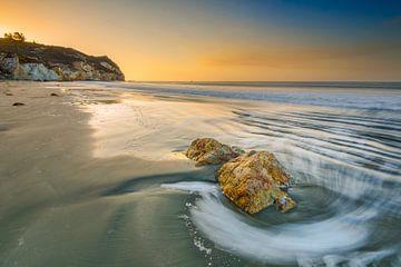 Sonnenaufgang am Avila Beach von Denis Feiner