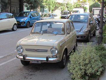 fiat 500 in Italie van Eugene Lentjes