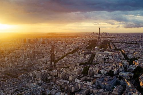 Parijs Panorama von Jesse Kraal