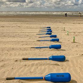 Zandvoort par la mer sur Freddie de Roeck