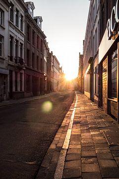 Antwerpen - Sunny side up van Maurice Weststrate