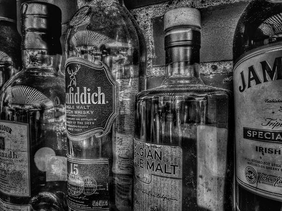 Close up Whiskey