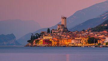 Malcesine, Lake Garda, Italy. van Henk Meijer Photography
