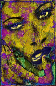 POP-ART-FACE-3 von Michael Detter