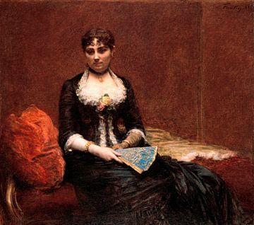 Porträt von Madame Léon Maître, Henri Fantin-Latour
