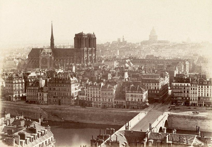 Parijs, Charles Soulier - ca. 1865 van Het Archief