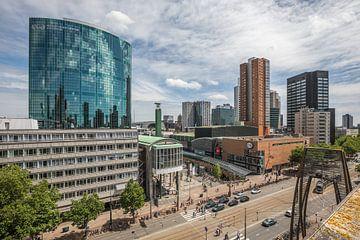 Die Ansicht des WTC Rotterdam Koopgoot und Coolsingel in Rotterdam von MS Fotografie | Marc van der Stelt