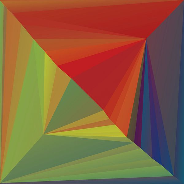 Abstracte samenstelling 690 van Angel Estevez