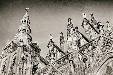 Sint-Janskathedraal te 's-Hertogenbosch van Marcel Bakker