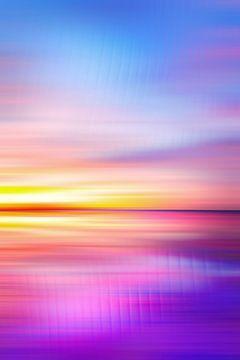 Abstrakter Sonnenuntergang VII von Art Design Works