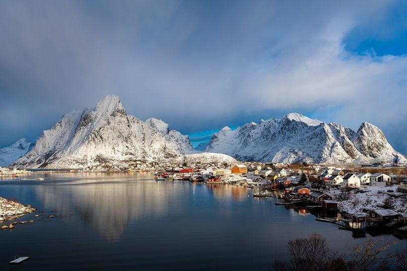 Winter in der Stadt von Hans Vellekoop
