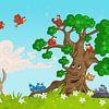 De beesten boom van Jesse Boom