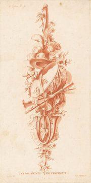 Trophäe, Jean François Janinet, Instrumente aus der Symphonie von Atelier Liesjes