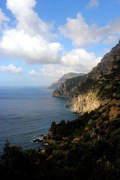 Italië, uitzicht in Amalfi van Kim de Groot