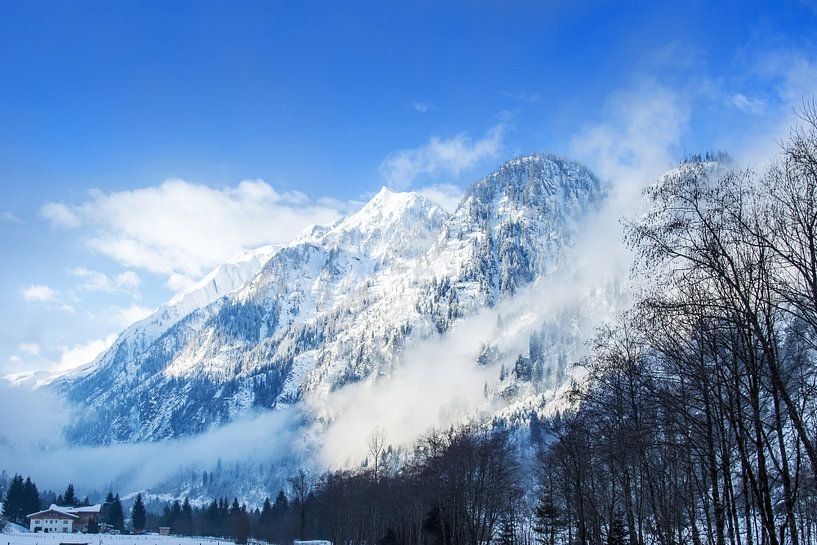 Gletsjer Kitzsteinhorn Kaprun van Martijn Bravenboer