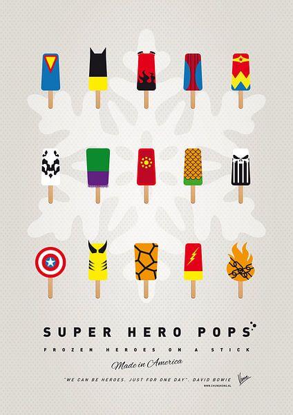 My SUPERHERO ICE POP - UNIVERS van Chungkong Art