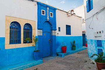Kasbah des Oudayes, Rabat, Marokko van Jeroen Knippenberg
