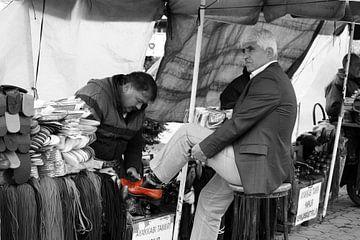Schoenpoetser in Istanbul von Stephan Neven