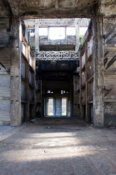 Verlaten mijngebouw von Nicky Staskowiak