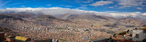 La Paz panorama van Ronne Vinkx