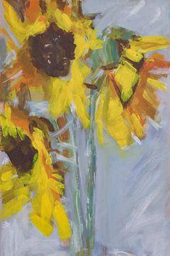 Sonnenblumen von Mieke Daenen